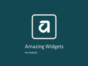 Amazing Widgets for Android Icon Design