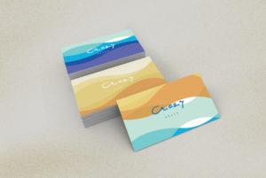 Crazy Beach Mamaia Design Carti de Vizita