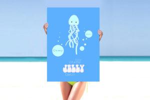 Crazy Beach Mamaia Design Afis