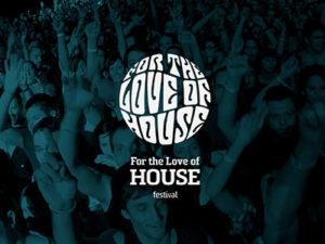 Branding by Sincretix Design Studio for For the Love of House Festival.