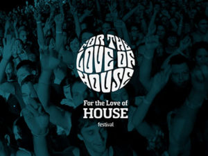 Branding by Sincretix Design Studio for For the Love of House Festival.