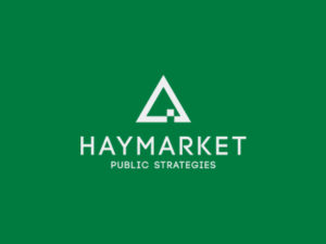 Branding by Sincretix Design Studio for Haymarket Public Strategies.