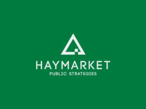 Branding by Sincretix Design Studio for Haymarket Public Strategies.