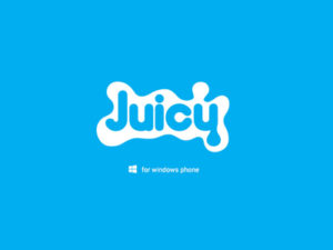 Branding by Sincretix Design Studio for Juicy Windows Phone.