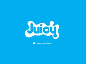 Branding by Sincretix Design Studio for Juicy Windows Phone.