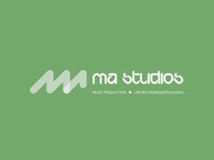 MA Studio logo design